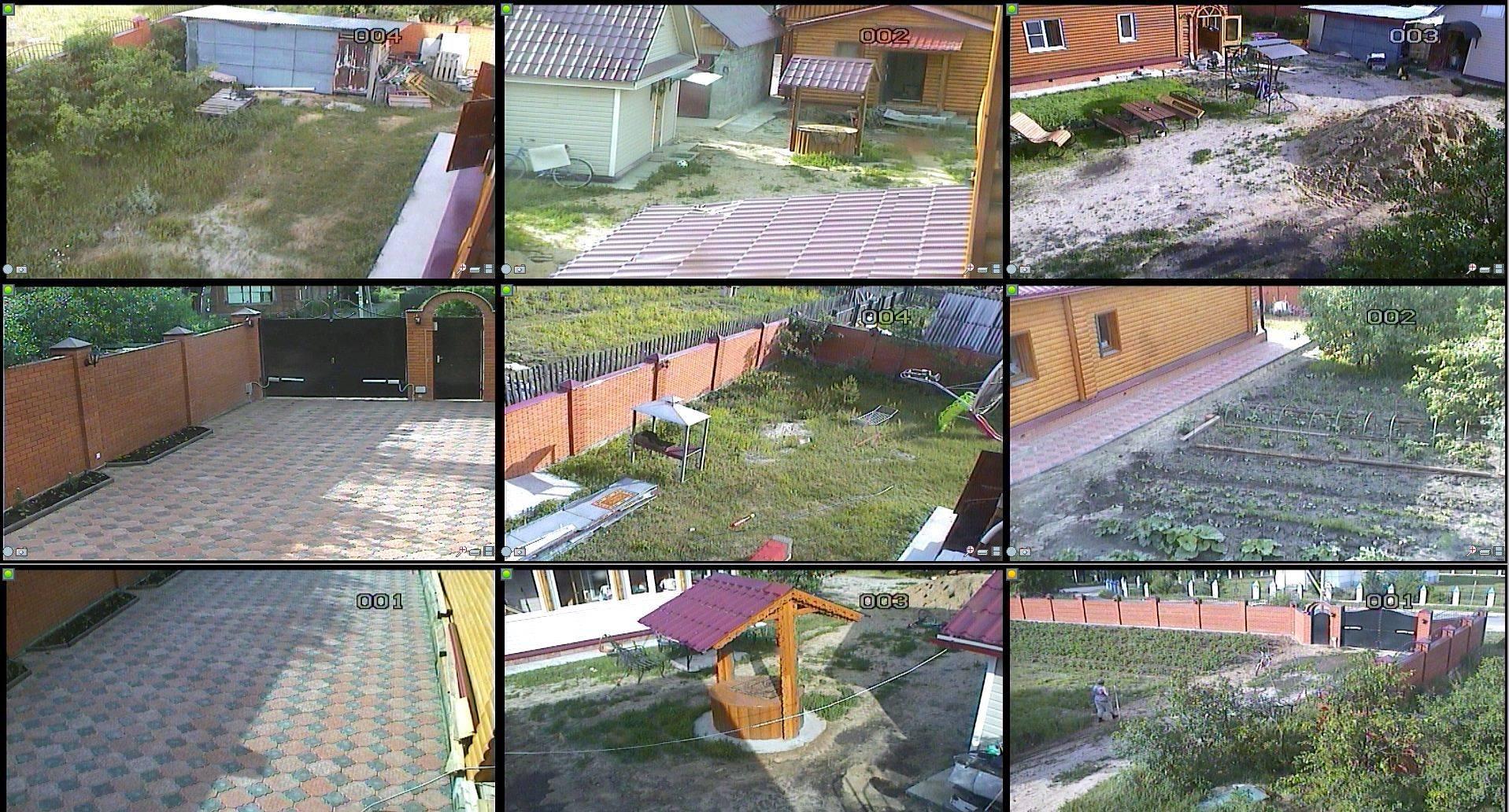 Организация видеонаблюдения на даче своими руками 95